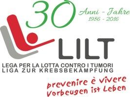 Logo 30 anni LILT definitivo